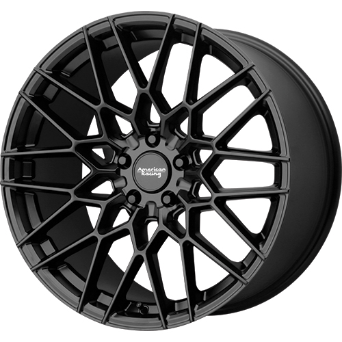 american racing ar927 barrage satin black rims