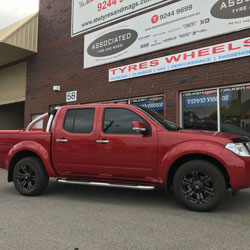 wheels and tyres for nissan navara perth west australia