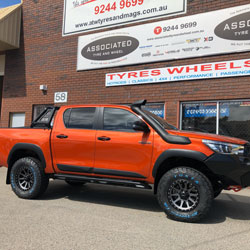 toyota hilux wheels and tyres perth west australia