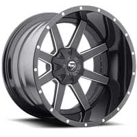 Fuel 2 piece wheels Maverick Black