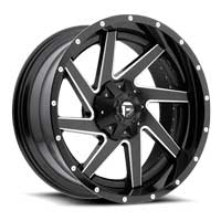 Fuel 2 piece wheels Renegade Black