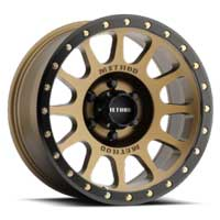 Method Wheels Perth 305 bronze 4x4 wheels