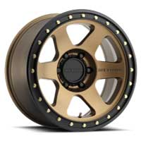 Method Wheels Perth 610 con6 bronze 4x4 wheels