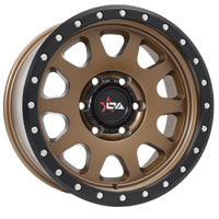 Offroad Armour Crusher 4x4 rims in bronze