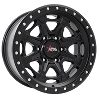 Offroad Armour Havok rims in satin black