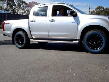 4x4 wheels and tyres Fremantle