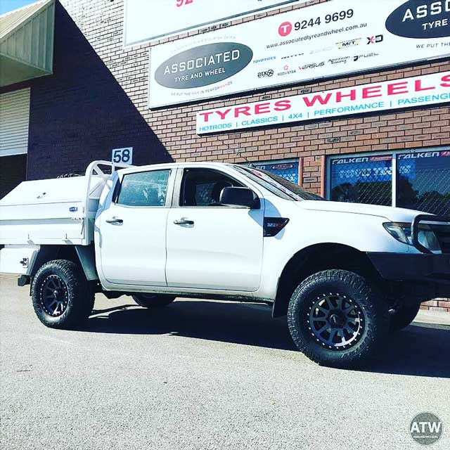 Tyres and wheels for Ford Ranger