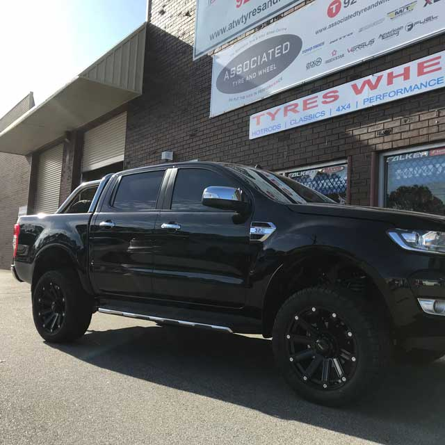 wheels and tyres for ford ranger