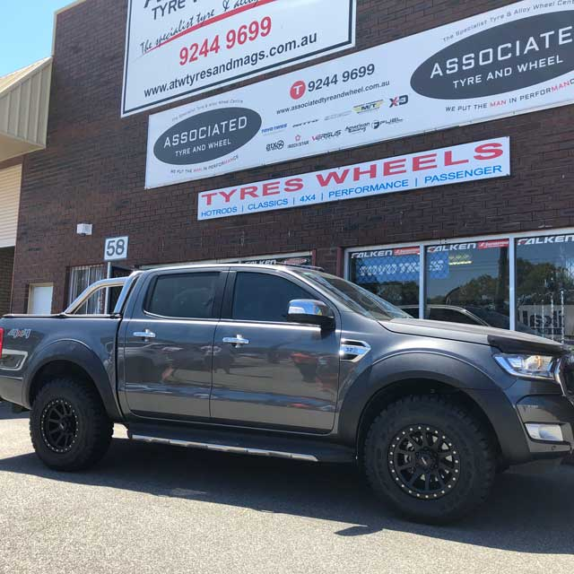 17 inch Toyo RT tyres on PX2 Ford Ranger