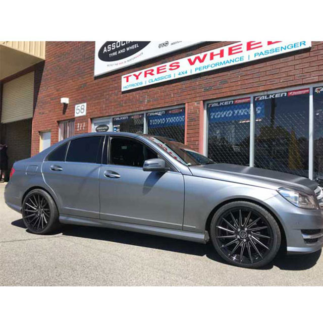 Hussla Wheels Sienna 19 inch on Merc