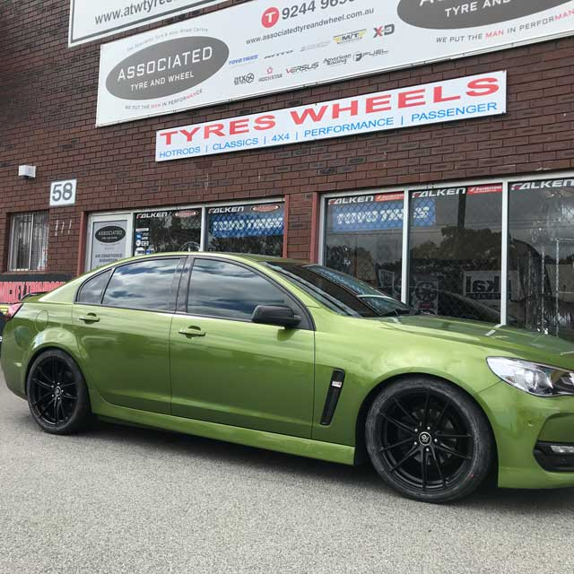 19 inch performance tyres Nexen tyres for vf commodore
