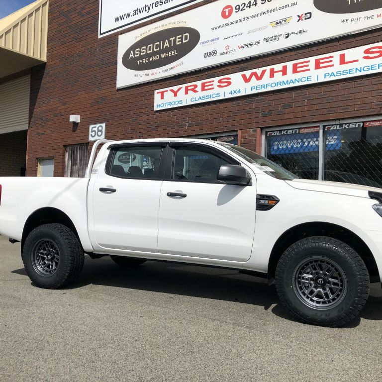 4x4 wheels and tyres perth on px3 ford ranger