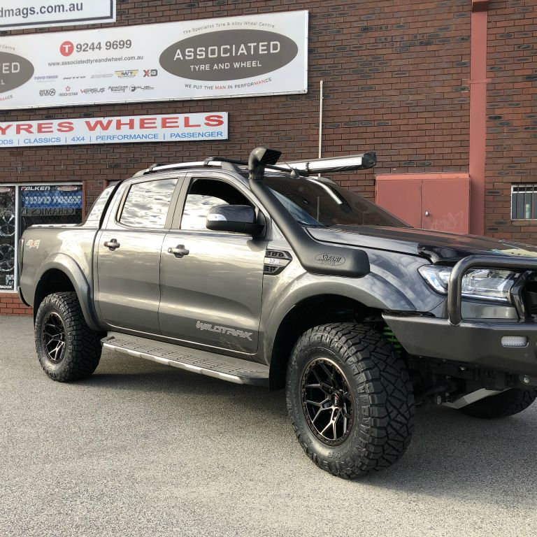 17 inch offroad armour predator rims on ford ranger